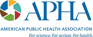 logo, American Public Health Association, For science. For action. For health